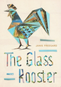 glass rooster cover