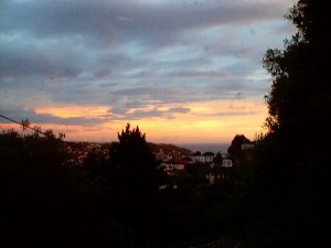 Sunset from my Wellington home