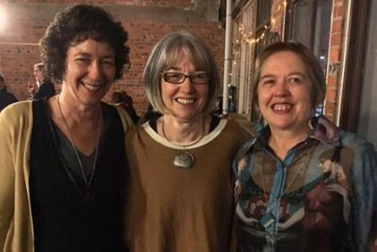 LitCrawl 2016 with Sue Wooton & Maggie Rainey-Smith